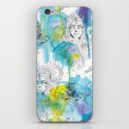 Mermaid Spirits iPhone Skin