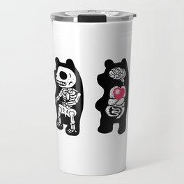 Panda Anatomy Travel Mug
