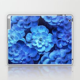 Succulent Plants In Blue Tones #decor #society6 #homedecor Laptop & iPad Skin