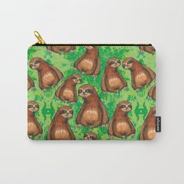 sloths in the florest Carry-All Pouch