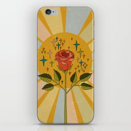 Sun rose iPhone Skin