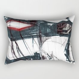 Futuristic Cyborg 3 Rectangular Pillow