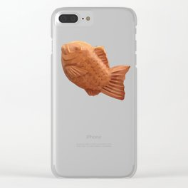 Taiyaki polygon art Clear iPhone Case