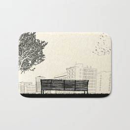 Tom's Favourite Spot — Angels Knoll Park, LA — (500) Days of Summer Bath Mat
