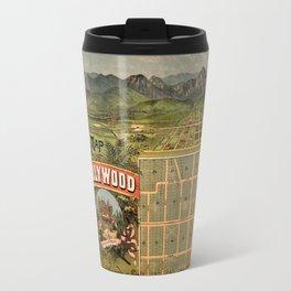 Map Of Hollywood 1887 Travel Mug