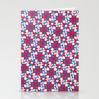 patriotic Stationery Cards featuring Patriotic  by Meaghan Monroe
