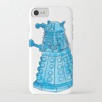 dalek iPhone & iPod Cases featuring Dalek by Margret Stewart