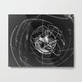 470. Gimbal Rig In Motion Metal Print