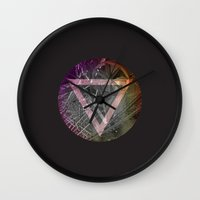 popart Wall Clocks featuring #popart by Lasse Egholm