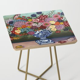 Amsterdam Flowers Side Table