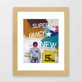 Super fancy new Framed Art Print