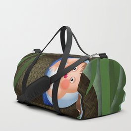 Baby Moses on the River Nile Duffle Bag
