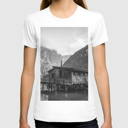House on Water (Black and White) T-shirt