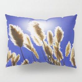 Backlit Blue Pillow Sham
