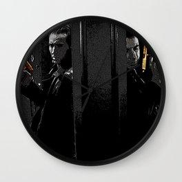 Face Off Wall Clock