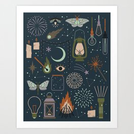 Light the Way Art Print