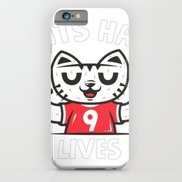 9 Lives iPhone Case