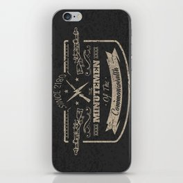 Minutemen of the Commonwealth iPhone Skin