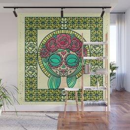 Sugar Skull Girl Wall Mural