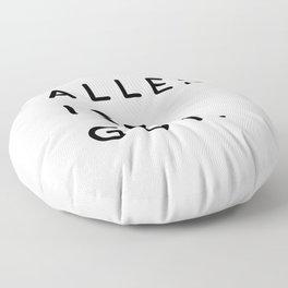 Alles ist Gut | Typography Minimalist Version Floor Pillow