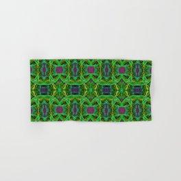 Green Coleus Ornamental Plant - Botanical Art Illustration Hand & Bath Towel