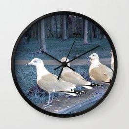 """Ducks"" in a row :) Wall Clock"