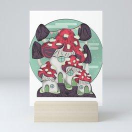 Shroomia Mini Art Print