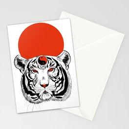 YIN YANG TIGER Stationery Cards