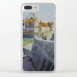 Sheringham Seafront Circa 1975 Clear iPhone Case