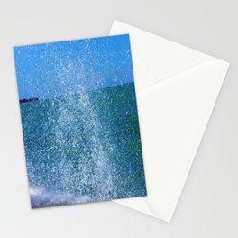 Lake Michigan Natural Fountains #2 (Chicago Waves Collection) Stationery Cards