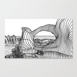 Double O Arch Canvas Print