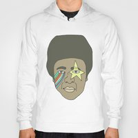 the dude Hoodies featuring dude by Chad spann