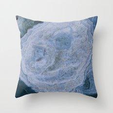 smiling stalactite Throw Pillow