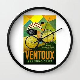 Ventoux Vintage Bicycle Advertising Print Wall Clock