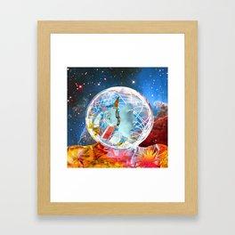 Star Robot Framed Art Print