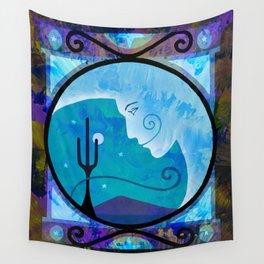 Desert Lunar Mood Wall Tapestry