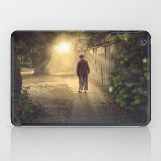 """It's time,"" he said. iPad Case"