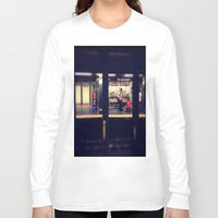 subway Long Sleeve T-shirts featuring Subway by Alissa Fleck