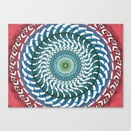 The White Lotus Canvas Print