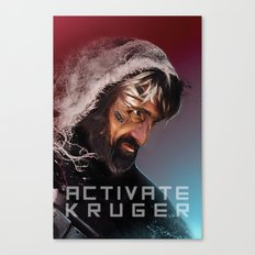 Activate Kruger Canvas Print
