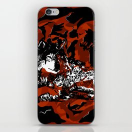 Stay calm - Animals Serie iPhone Skin
