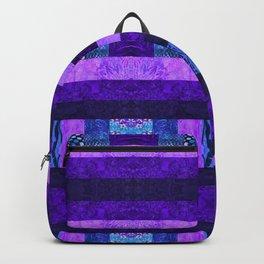 Quilt Top - Deep Purple Backpack