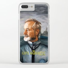 The Life Aquatic with Steve Zissou Clear iPhone Case