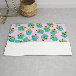 Cupcakes - 'The Marvelous Colors of a Lollipop' Rug
