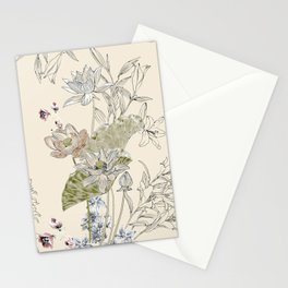 Lotus art Stationery Cards