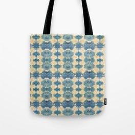 Light Shibori Blues Tote Bag
