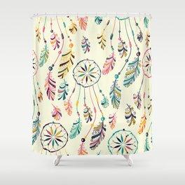 Boho Dreamcatcher Pattern Shower Curtain