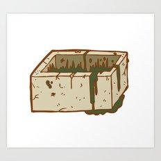 Moab Is My Washpot Art Print