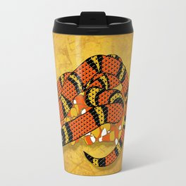 Mexican Candy Corn Snake Travel Mug