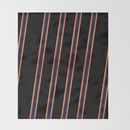 Diagonals Throw Blanket